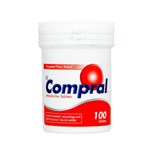 Compral Headache Tablets 100